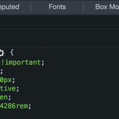 CSS 的值与单位的常见知识点